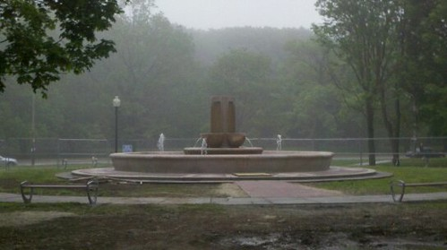 Lippitt Memorial Park fountain back in business