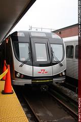 IMG_6001 (R. Flores) Tags: new toronto ontario canada car america train subway bay university display ttc north davisville transit rocket yonge spadina commission thunder articulated bombardier t35a08
