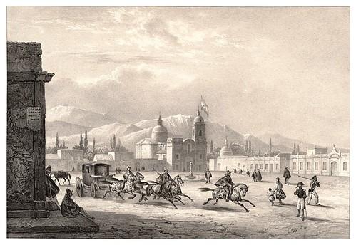 008-Plaza publica de Mendoza-Journal de la navigation autour du globe… 1837-Barón de Bouganville-fuente BOTANICUS