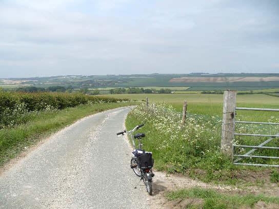 Overlooking Foxton and Octon Grange