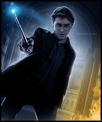 Daniel Radcliffe [The Power of Magic] - Whendel d'Souza (W h e n d e l l) Tags: hp daniel harrypotter fanart radcliffe blend danielradcliffe