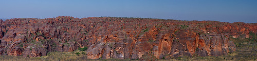 Bungle Bungles Panorama - Aerial View from Slingair Helicopter