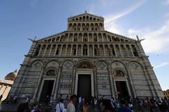Pise, la cathdrale, faade (Patrick.Raymond (2M views)) Tags: nikon italia toscane glise italie pises concordians