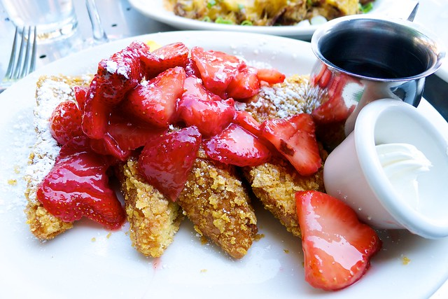 Cornflake Crusted French Toast @ Mother's