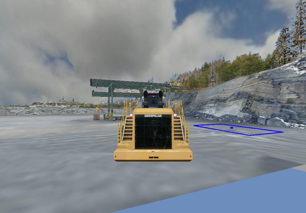 Cat Simulators Large Wheel Loader Training Exercise: Stockpiling