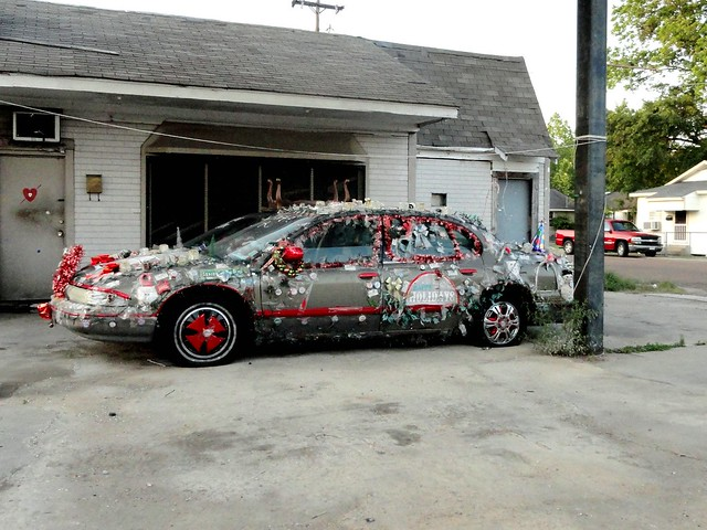 Christmas Car in Greenwood MS