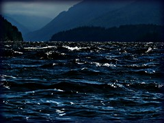 dark and troubled waters (calamityjan2008) Tags: ocean blue mountains water dark waves soe darkwaters whitecaps june22 roughwater turbulentwater mygearandme mygearandmepremium ringexcellence blinkagain bestofblinkwinners
