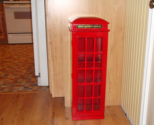 Little Red Phone Booth