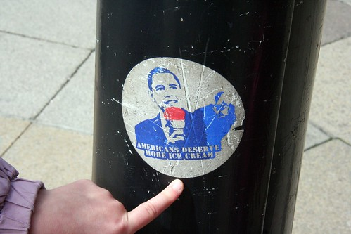 Sticker in London