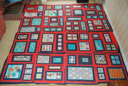 Layout time by Lynne @ Lilys Quilts