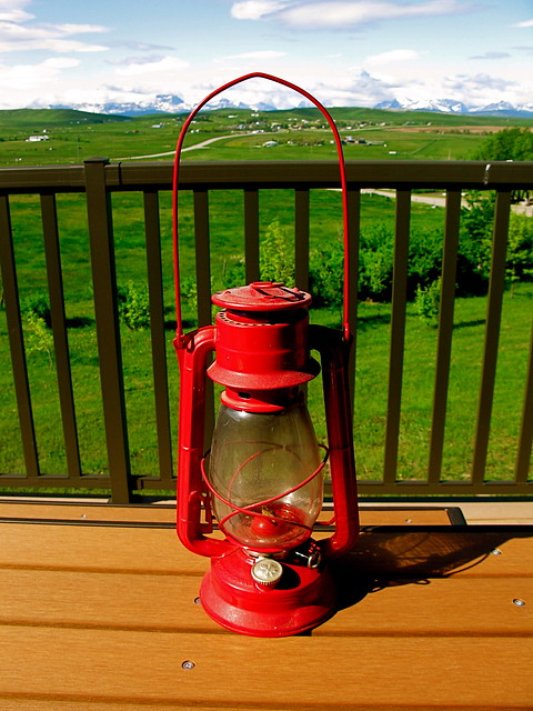 Czechoslovakia Hurricane Lamp