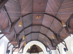 unique ceiling Church of Our Lord, Victoria BC (@lacouvee) Tags: church victoriabc historicchurch humboldtvalley churchofourlord