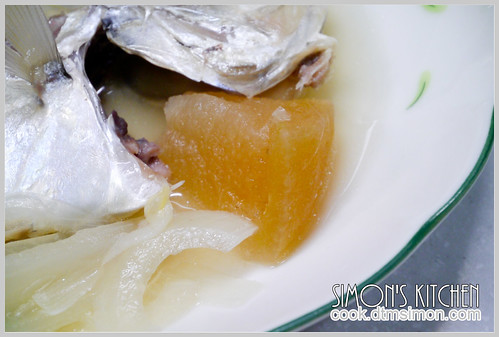醬冬瓜煮瓜仔魚10