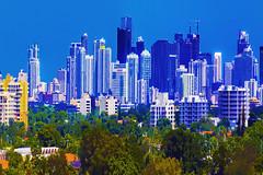 View of downtown Miami, Florida, USA. / The Magic City (Jorge Marco Molina) Tags: miami florida usa miamidadecounty sunshinestate city cityscape centralbusinessdistrict commercialproperty cosmopolitan metropolitan metro metropolis urban density megacity skyscraper building highrise realestate southflorida