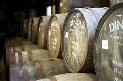 Waiting For Better Times (Bas Tempelman) Tags: ireland ierland eire the dingle whiskey distillery county kerry barrel barrels alcohol drums kodak portra 400 nikon f801s
