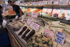 Pike Place market, Seattle Washington (schnauzerwhisperer) Tags: seattle washing pikeplace fish market salmon pacific northwest