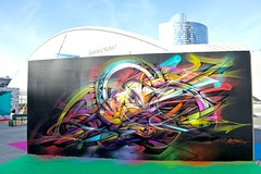 Hopare (France) (Grained'Acacia) Tags: graffiti streetart ue2 undergroundeffect2 ladefense