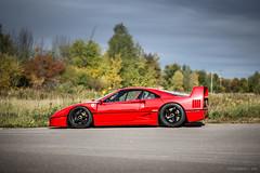 Ferrari F40 (Peter Nowacki) Tags: ferrari f40 ferrarif40 red car auto racecar automotive samyang samyang85mm 85mm