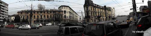 Panorama spre strada Polizu by claudiunh