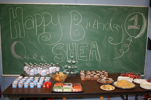 Shea's 1st B-Day Party!