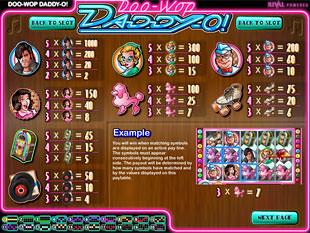 free Doo Wop Daddy O slot mini symbols