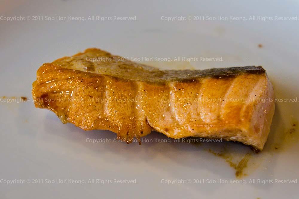 Pan Fried Salmon @ Bangkok, Thailand