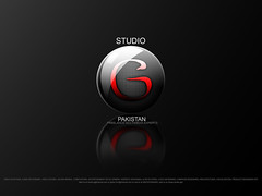 StudioG Pakistan New Design logo with more contrasted dark look, Freelance multimedia experts working internationally (Goher Ali) Tags: new pakistan red wallpaper black look by logo perfect with crystal ali clear gloss glassy rizvi studiog goher