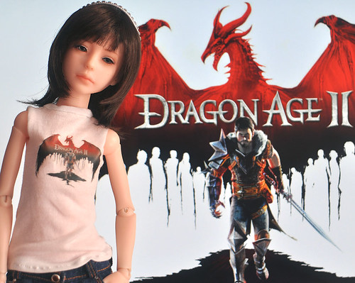 Dragon age 2 fan t-shirt.