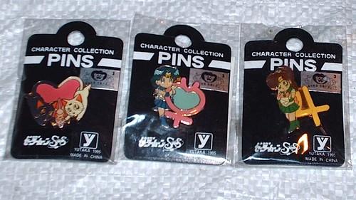 SAILOR MOON Super S Toei Character Pins