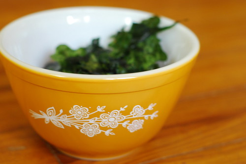 kale and pyrex