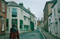 (emilyharriet) Tags: road street houses england film 35mm nicola yorkshire knaresborough zenite
