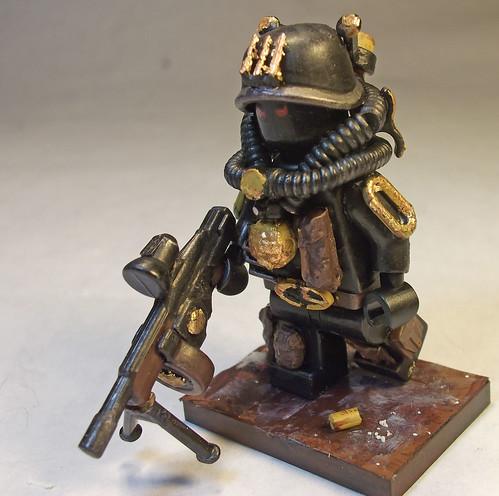 Custom minifig C9 Div. Corporal James E. Hester custom minifigs