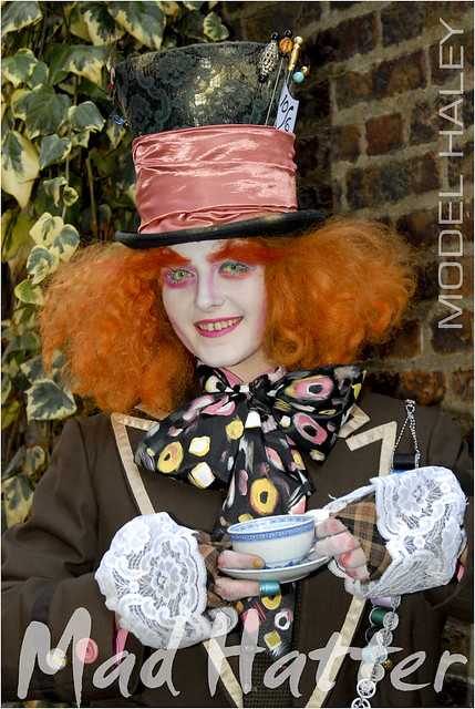 MAD HATTER costume and make up by me by Michael Struts