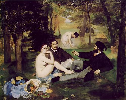 Edouard Manet - Dejeuner sur l'herbe - 1863