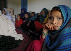 Afghan women voice concerns to coalition forces [Image 4 of 4] (DVIDSHUB) Tags: afghanistan af afghangirl muslimgirl afghanchild paktikaprovince muslimchild balishkalay