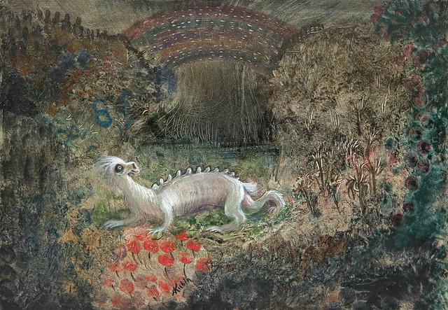 Alfred Kubin - Mythical Animal, 1905/06