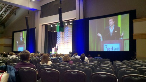 Clinton Kelly at ACRL