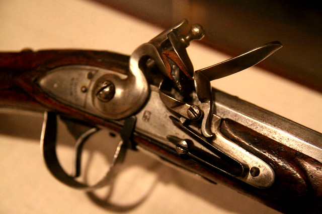 Chicago History Flintlock Rifle