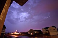 Lightning (nicholasjon) Tags: sky night clouds madison thunderstorm lightning