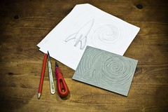 The lino cut