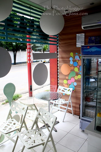 Froyo stall