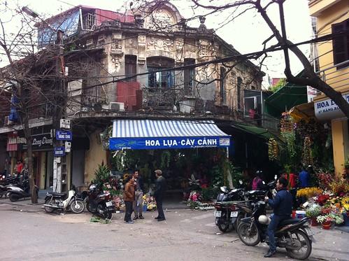 hanoi streetscene