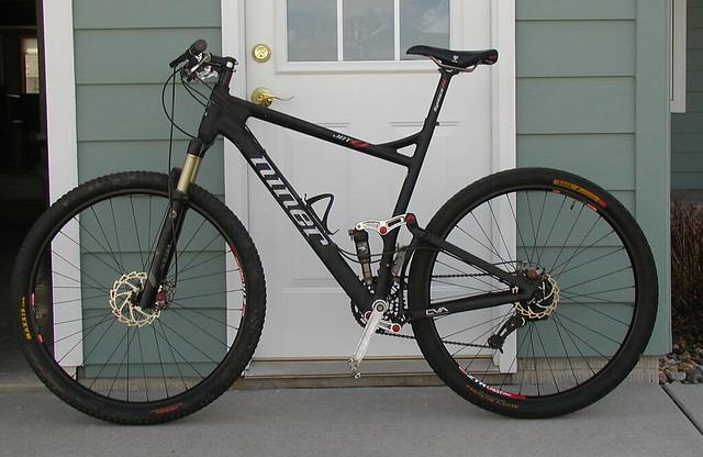 Raven rear/Ikon front