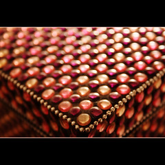 Button Box 242/365 (gravity_grave) Tags: pink shiny pattern bokeh 365 gem jewel project365 365project dailyshoot 242365 ds507