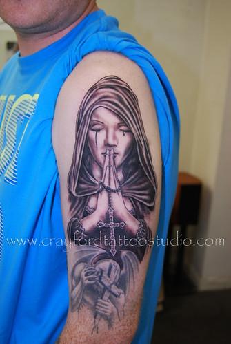 prayer tattoo. Prayer Tattoo
