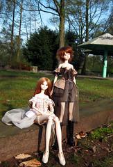 Eve and Livia (sethrea) Tags: violet fir rosette