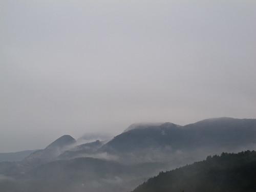 Mist above Kurucasile