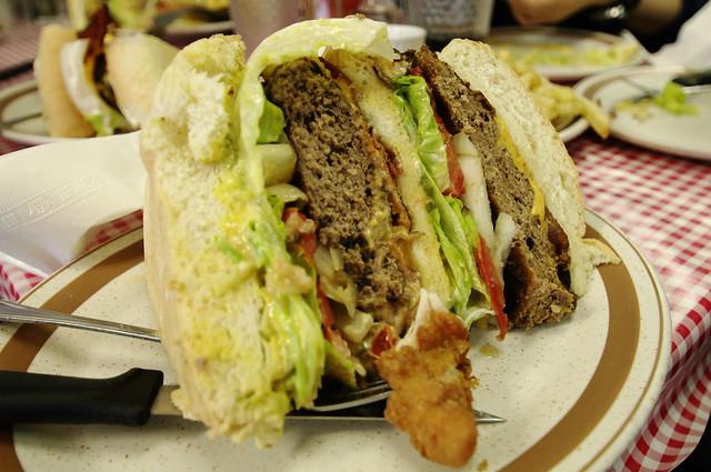 加拿大遊學日記18 (Blondie's Burger)