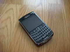 NTT DoCoMo Blackberry bold 9700