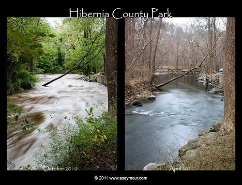 Hibernia County Park (Oct 2010 vs Apr 2011)